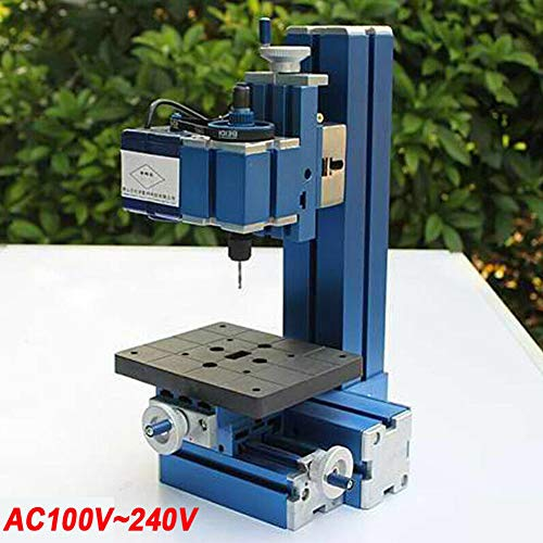 Affordable 100V~240V Metal Mini Drilling Milling Machine Woodworking Electric Driller Tool