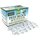 Eco Defense Pest Control Pouches - All Natural - Repels Rodents, Spiders, Roaches, Ants, Moths & Other Pests - 12 Pack - Best Mouse Trap Alternative