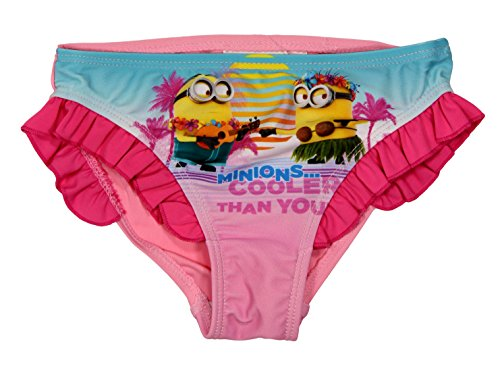 Minions Official Girls Swimming Bikini 6Years Pink