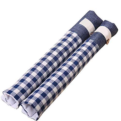 Ktimor Türgriff Schutzhüllen halten Küchengeräte sauber von Schmieren, Fingerspitzen Tropfen perfekt für Geschirrspüler blau