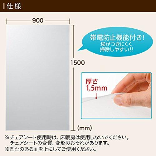 サンワサプライ『チェアシート(100-MAT006)』