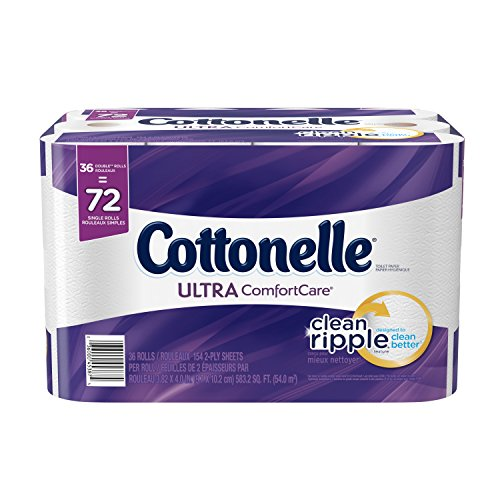 Cottonelle Ultra Comfort Care Double Roll Bath Tissue, 36 Count