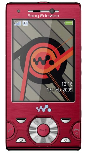 Sony Ericsson W995 Handy (UMTS, 8.1 MP, UKW-Radio, 8GB) Energetic Red