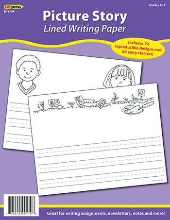 Fun & Fancy: Picture Story Lined Writing Paper, Grade K-1