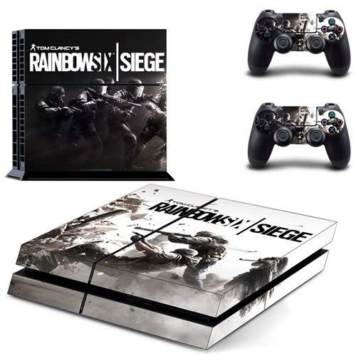 Playstation 4 Skin Set - Rainbow Six Siege HD Printing Vinyl Skin Cover Protective for PS4 Console and 2 PS4 Controller by Mr Wonderful Skin