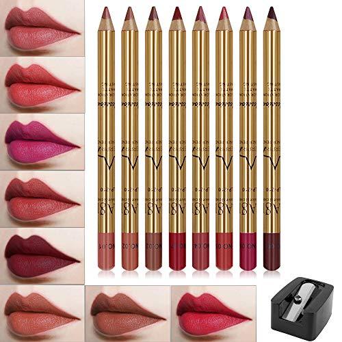 FANICEA 8 Colors Matte Lip Liner Pe…