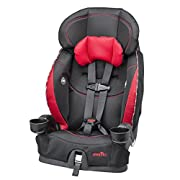 EXTENDED USE: Converts from 5-point harness to vehicle seat belt use as child grows and the 110 lbs. booster mode weight rating accommodates growing children longer SECURITY MADE SIMPLE: The simple adjustability with upfront harness fitting and 2 cro...