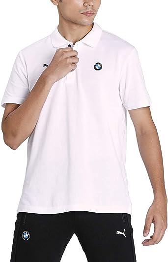 Puma Herren Bmw Mms Striped T Shirt Bekleidung
