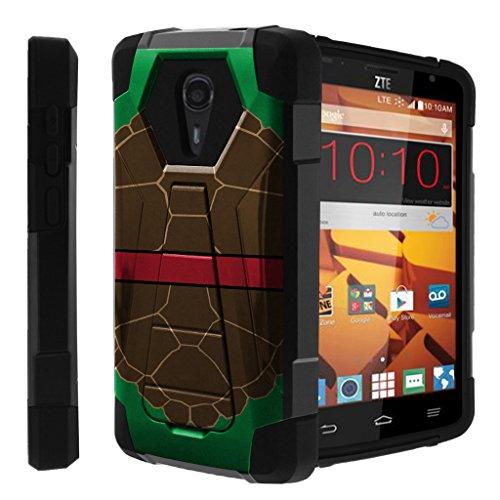 Untouchble Compatible with ZTE Quest Hard Case| ZTE Ultra, N817 Case [Traveler Series] Dual Layer Hybrid Kickstand Case - Turtle Shell