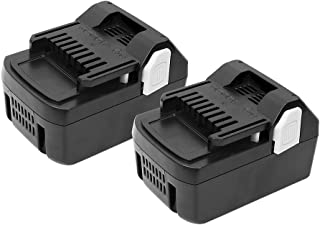 2PACK 18V 4.0Ah Replacement Lithium-ion Battery for Hitachi Cordless Power Tools Series Rechargeable Battery for Hitachi BSL1830 BSL1815X EB1814SL DS18DSAL 33055 330067 330068 330139 330557