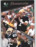 Jimmy Clausen - Golden Tate - Notre Dame (Teammates)(Rookie Year Card) 2010 Press Pass NFL Draft Football. rookie card picture