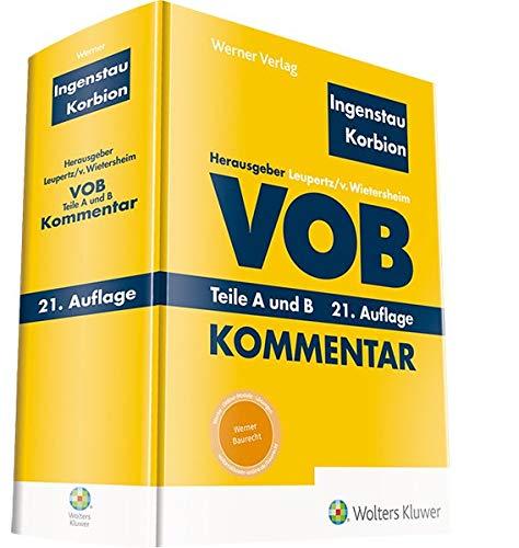 VOB Teile A und B: Kommentar