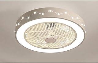 Led Bedroom Natural Fan lamp Ceiling Fan lamp Home Electric Fan Chand elier Bedroom Kitchen Children's Room dot Shape