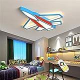LIUHUAN Kinderzimmer LED Flugzeug Deckenlampe...