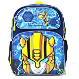 New Transformers Backpack 16' Large School Backpack Book Bag