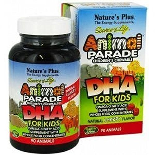 Animal Parade Dha 90 Chewable Animals by Nature's Plus