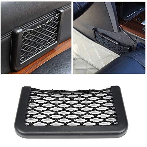 Universal Car Seat Trunk Side Back Storage Elastic Mesh Net Bag Baskets Auto GPS Mobile Phone Charge Cigarettes String Holder Pocket Box Organizer Accessories