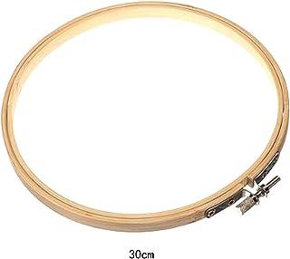 Blue Vessel Wooden Stickerei Kreuzstich Tapisserie Ring Hoop Frame 30cm