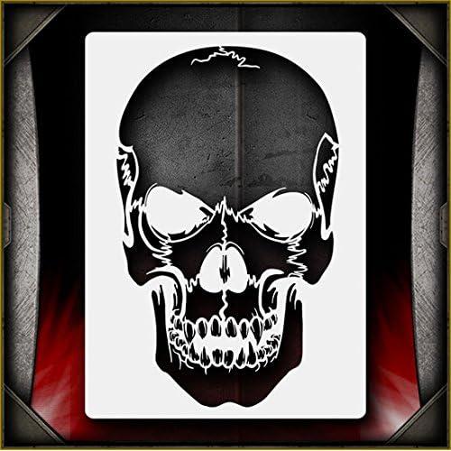 bc6a2f82c0821 Skull Airbrush Stencils: Amazon.com