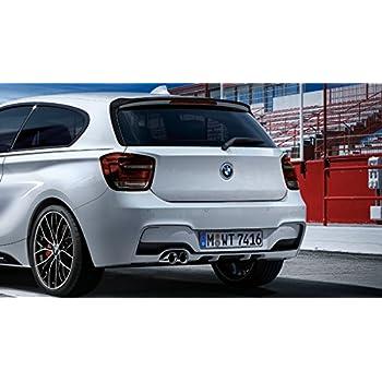 Bianco NZ-CJ Adatto per Spoiler ABS Serie 1 F20 Hatchback 116I 118I 125I M135I 120I Alettone Posteriore 12-18