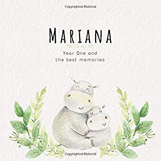 Mariana Year One and the best Memories: Baby Book I Babyshower or Babyparty Gift I Keepsake I Memory Journal with prompts ...