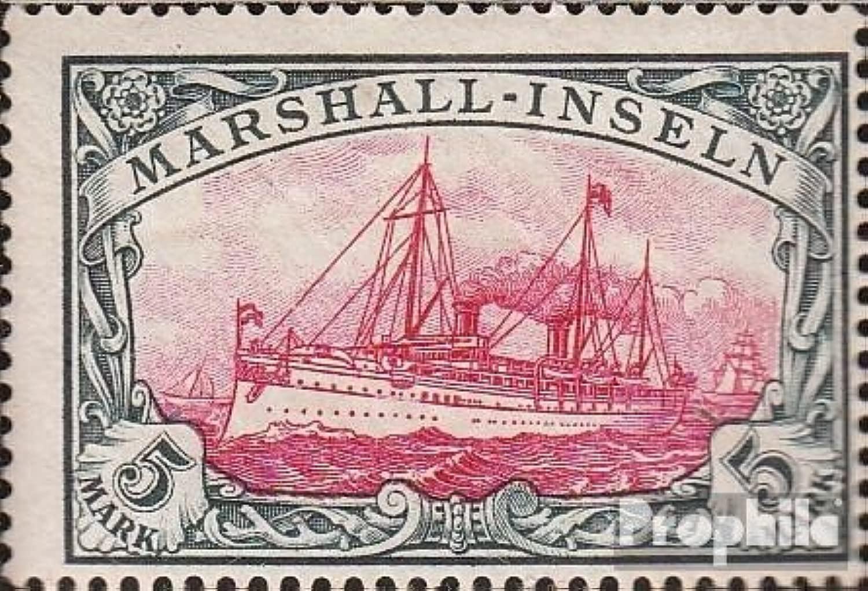 Marshtutti-Isole (Tedesco. Colonie.) 25 1901 Nave Imperial Yacht Hohenzollern (Francobolli per i collezionisti) marinaro