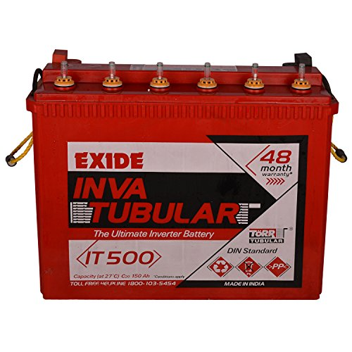 Exide Inva Tubular Battery 150Ah/12V (Red)