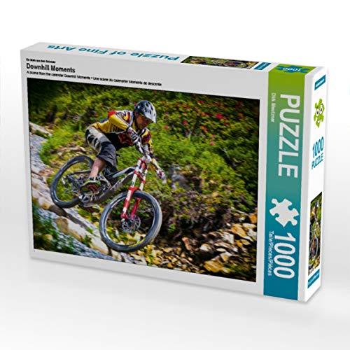CALVENDO Puzzle Downhill Moments 1000 Teile Lege-Größe 64 x 48 cm Foto-Puzzle Bild von Dirk Meutzner