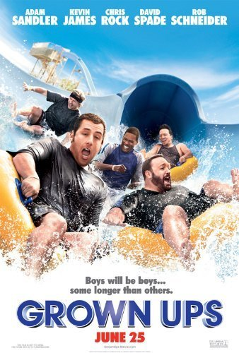 Grown Ups POSTER Movie (11 x 17 Inches - 28cm x 44cm) (2010) (Style B)