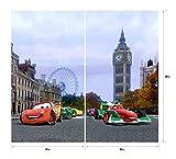 Gardine/Vorhang FCS xl 4312, Kinderzimmer Disney Cars - 4
