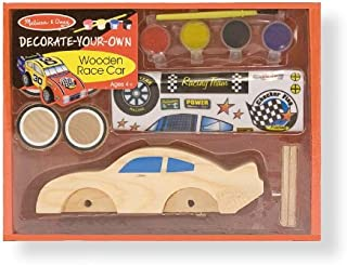 Melissa & Doug DYO Wooden Race Car