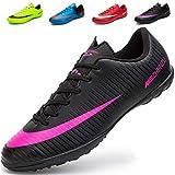 Ikeyo Zapatillas de Fútbol Hombre Profesionales Botas de Fútbol Aire Libre Atletismo Zapatos de Entrenamiento Zapatos de fútbol