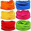 KALILY 12PCS/9PCS/6PCS Headband Bandana - Versatile Sports & Casual Headwear -Multifunctional Seamless Neck Gaiter, Headwrap, Balaclava, Helmet Liner, Face Mask - Camping, Running, Cycling, Fishing