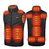 Chaleco Calefactable 11 Zonas De Calefacción Carga USB Hombres...