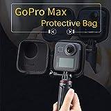 Rainnao Custodia Protettiva Custodia Protettiva Impermeabile per Gopro Max, Custodia da Trasporto Impermeabile per Superficie Compatibile con GoPro Max bearable in Style