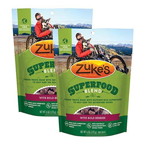 Zuke's SuperFood Blend Dog Treats, Bold Berries (2 Pack)