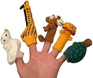 NOVICA Wool Finger Puppets 'Gifts for Puppeteers' (Set of 5)