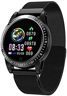LINGJIA Pulsómetros Smartwatch Pantalla Táctil Ip68 Impermeable Hombres Mujeres Reloj Inteligente Cronómetro Monitor De Frecuencia Cardíaca Fitness Sports Bracelet / 1