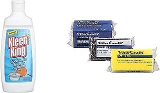 ビタクラフト 鍋 洗剤 クレンザー ステンレス用 クリーンキングリキッド 9904 & キッチン スポンジ ソフト&ハードたわし セット 日本製 3M社製 9830【セット買い】