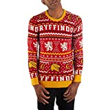 Gryffindor Sweater Harry Potter Sweater Hogwarts Sweater Gryffindor Apparel-Large