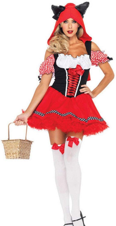 Yunfeng weihnachtsmann kostüm Damen Weihnachten Kleid Snow Weiß Dress Little rot Riding Hood Cosplay Bühnenoutfits Kostüm Erwachsene Weihnachtsfeier Cosplay Kostüm B07KSYVK7T Qualität zuerst  | Deutschland Frankfurt