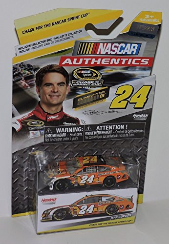 NASCAR Authentics 2014 Chase Eliminator Edition Jeff Gordon #24 Drive to End Hunger Axalta 1/64 Scale Diecast Car