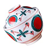 Tigela de sopa a a vapor estilo Cabilock Panela de Cerâmica Japonesa Panela de Cozimento de Porcelana, Panela de Sobremesa, Pote de Tempero, Jarro para Ovos Cozinhados a Vapor