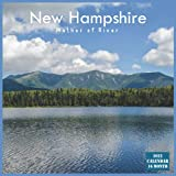 New Hampshire Mother of River Calendar 2022: Official New Hampshire State Calendar 2022, 16 Month Calendar 2022