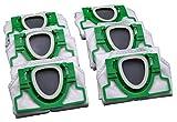 6 bolsas de aspiradora de microvellón, 5 capas, aptas para alérgicos, calidad...