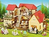 Sylvanian Families 5283 Beechwood Hall & Cosy Cottage Gift Set