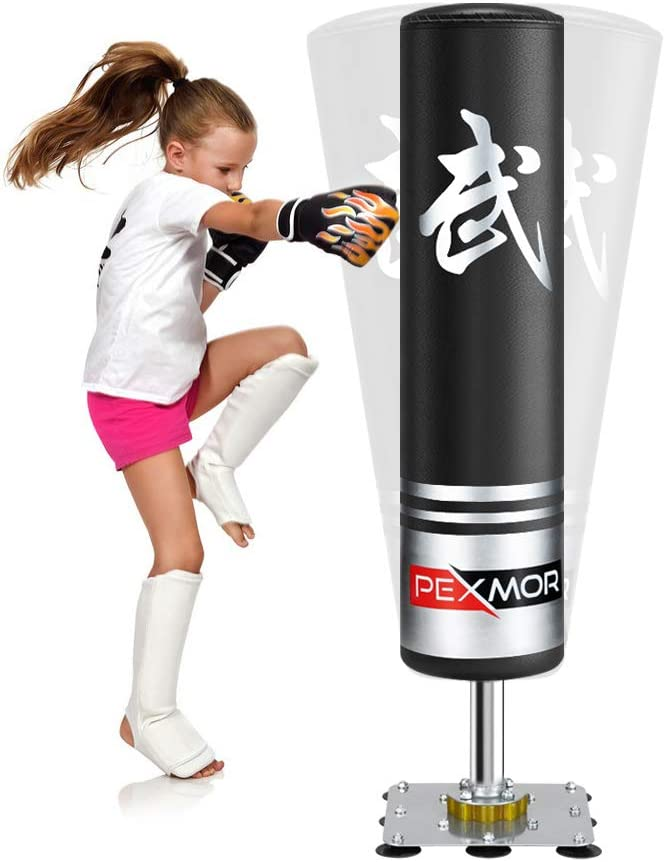 Max 51% OFF PEXMOR 47'' Freestanding Punching Bag for Heavy Kids Luxury - Boxing Ba
