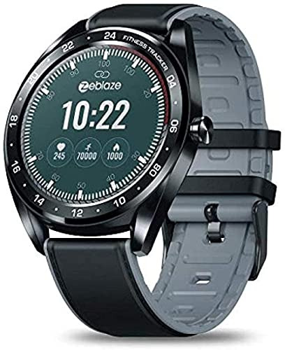 Reloj inteligente/1.3 pulgadas IPS pantalla a color/IP67 pulsera deportiva impermeable/monitoreo de salud multifunción tracker-Negro