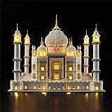 ZJLA Juego de luces para (Creator Expert Taj Mahal Building Blocks Model – Kit de luces LED compatible con Lego 10256 (no incluye el modelo)
