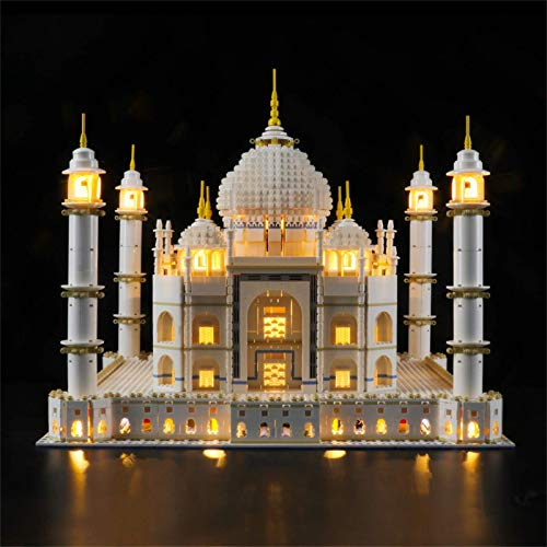 ZJLA Juego de luces para (Creator Expert Taj Mahal Building Blocks Model – Kit de luces LED compatible con Lego 10256 (no incluye el modelo)